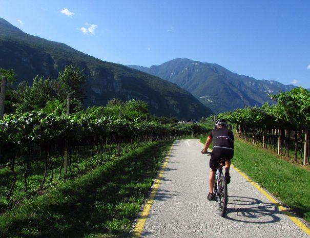 Valdadige e ciclopista del sole