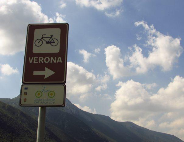 pedalando lungo la Valdadige