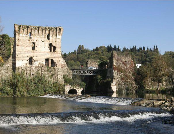 Borghetto, village on the water