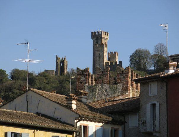 The towers of Valeggio sul Mincio