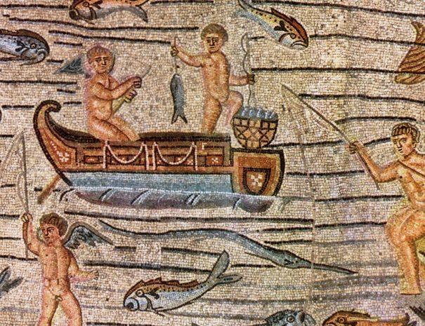 Aquileia-Basilica-Scene_di_pesca-YukioSanjo-s